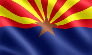 Arizona State Flag Graphic