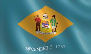 Delaware State Flag Graphic