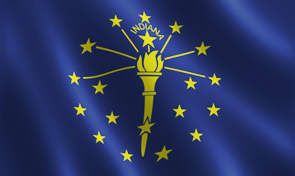Indiana State Flag Graphics