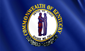 Kentucky State Flag Graphic