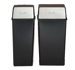 Model 21HT-22 | Model 36HT-22 | Monarch Series Push Door Tops (Black w/Brass Doors)