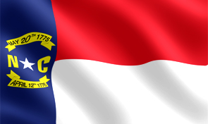 North Carolina State Flag Graphic