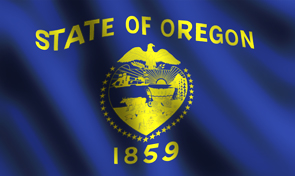 Oregon State Flag Side 1 Graphic
