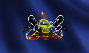 Pennsylvania State Flag Graphic