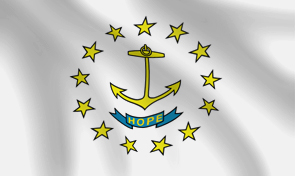 Rhode Island State Flag Graphic