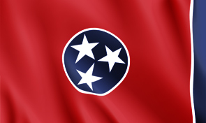 Tennessee State Flag Graphic