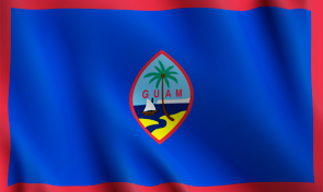 Guam Territory Flag Graphic