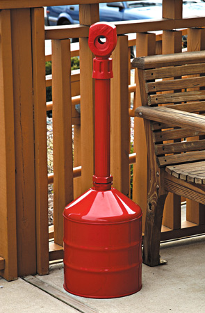 Model 26811R | 5 Gallon Cigarette Butt Can (Safety Red)
