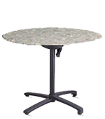 Model 99831102 | Molded Melamine Table Top (Tokyo Stone)
