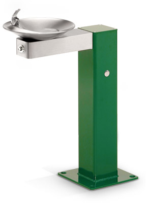 Model 3377FR | Freeze Resistant Drinking Fountain (Green)