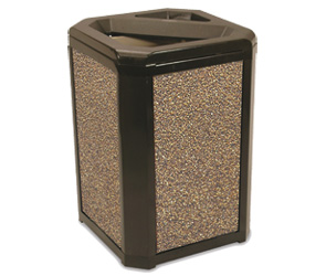 Model 3966 | Model 4002 | Landmark Series® 20 Gallon Waste Container