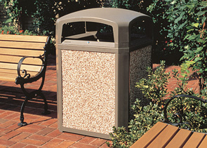 Model 3970 | Model 4003 | Landmark Series® 35 Gallon Waste Container