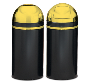 Model 415DT-11 | Model 15DT-11 | Monarch Series Dome Tops (Black w/Brass Trim)