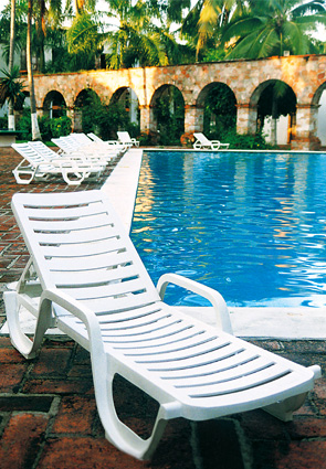 Bahia Chaise Lounges Resin Chairs Pool Furniture