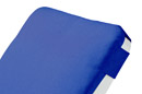 Royal Blue Hooded Cushion Detail