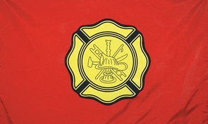 Fire Department First Responder Flag Graphic