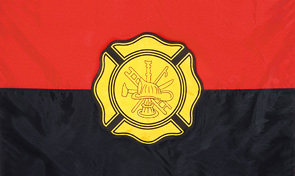 Fire Department Remembrance Flag Graphic