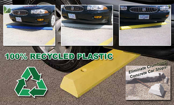 Recycled Plastic Car Stops