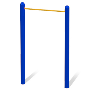 Model 78000002 | Single Horizontal Bar | Exercise Equipment