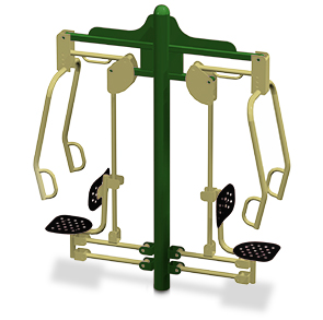 Model 78000009-SM | Outdoor Chest Press Machine