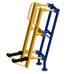 Model 78000039 | Stair Climber | Outdoor Fitness Equipment