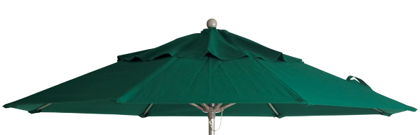 Model 98382031 | Market Umbrella with Aluminum Pole (Forest Green)