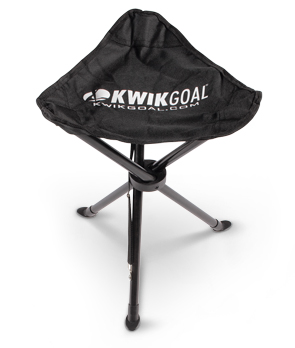 Model 9B901 | Coaches Seat with Collapsible Steel Frame (Black)