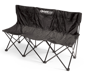 Model 9B903 | 3-Seat Kwik Bench (Black)