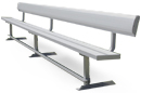 Team Series Aluminum Player Benches with Backrests