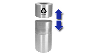 Two Piece Design of Aluminum Recycling Can