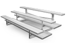 8 Row Quality 21' Bleacher with Double Footboards