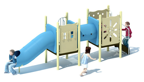 Treasure Tunnels Commercial Playground Set