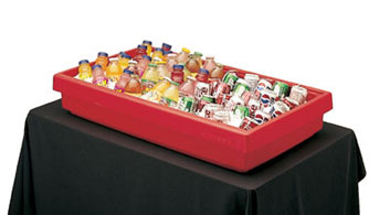 Model BUF48 | Portable Table Top Buffet Bar (Hot Red)
