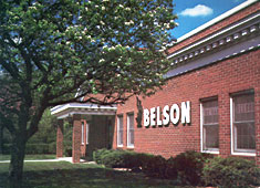 Belson Outdoors® Brick Building Office front and manufacturing plant