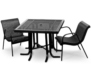 "Model CA40S-P | 40"" Square Table 