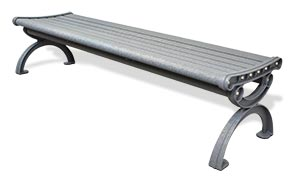 Model CBPB-6A1NB-SL | Aluminum Flat Bench
