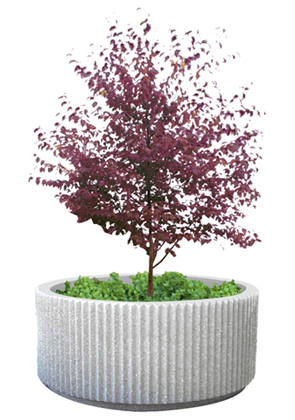 Model CCRP7 | 7' Commercial Concrete Planter (Natural)