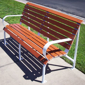 Model CGP-60-R | 5ft. Recycled Plastic Bench | Capitol