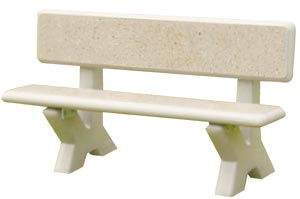 Model COB5 | 5 ft Concrete Park Bench