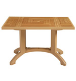 "Model CT645008 | Atlantis 48"" x 32"" Table w/Balcony Legs"
