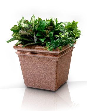 "Model DC-724021 | StoneTec® 18"" Planter (Sedona)"