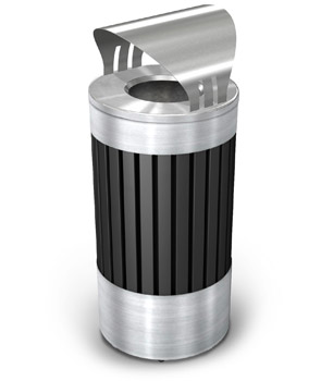 Model DC-72774399 | ArchTec Series Riverview Trash Receptacle | Canopy Top
