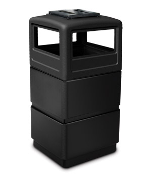 Model DC-73260199 | 3 Tier Square Waste Container Ashtray Dome Lid