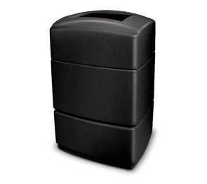 Model DC-733101 | 40 Gallon Waste Receptacle (Black)