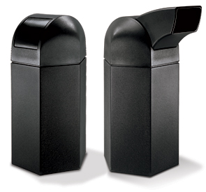Models DC-73760199 & DC-73780199 | 50 Gallon Hexagon Waste Containers