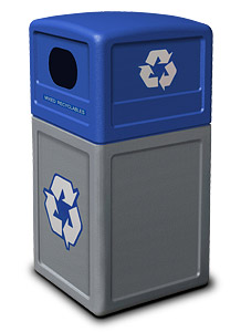 Model DC-74613499 | Recycle42 Series 42 Gallon Receptacle