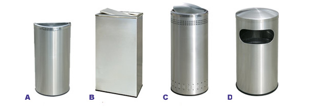 Precision Series Waste Containers Collection