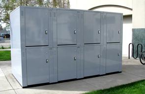 Steel Bike Storage Locker