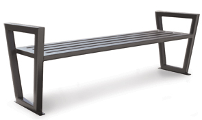 Model DXBS6 | Modern Outdoor Backless Bench | Decora Style