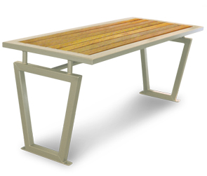 Model DXTC6 | Decora Style Outdoor Picnic Bench Table (Tan)